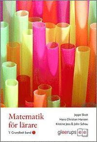 bokomslag Matematik för lärare Ypsilon Band 1