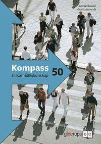 bokomslag Kompass till samhällskunskap 50 p