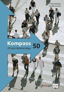 bokomslag Kompass till samhällskunskap 50, elevbok