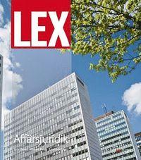 bokomslag Lex Affärsjuridik Fakta och övningar