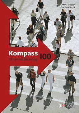 bokomslag Kompass till samhällskunskap 100, elevbok