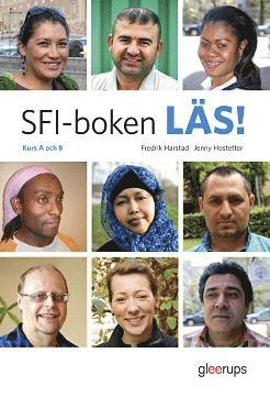 bokomslag SFI-boken LÄS! Kurs A och B inkl CD