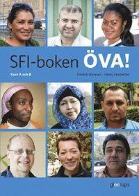 bokomslag SFI-boken ÖVA! Kurs A och B