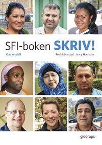 bokomslag SFI-boken SKRIV! Kurs A och B