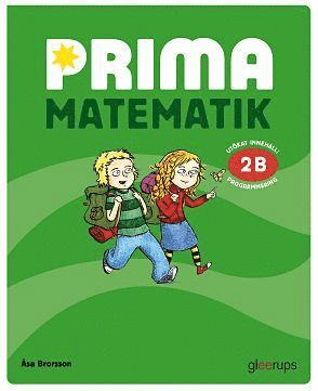 bokomslag Prima matematik 2B Grundbok 2:a uppl