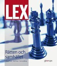 bokomslag LEX Rätten och samhället, fakta- och övningsbok