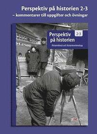 bokomslag Perspektiv på historien 2-3, kommentarer till övningarna