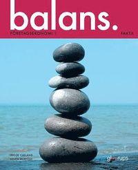bokomslag Balans Företagsekonomi 1 Fakta