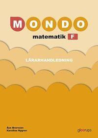 bokomslag Mondo Matematik F Lärarhandl