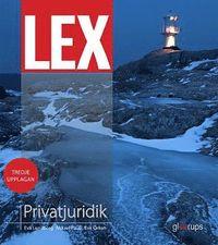 bokomslag LEX Privatjuridik, fakta- och övningsbok, 3:e uppl