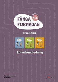 bokomslag Fånga förmågan svenska Lärarhandl 4-6 + 8 planscher