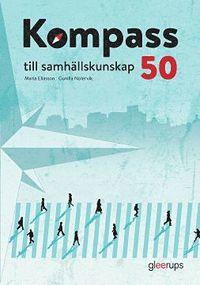 bokomslag Kompass till samhällskunskap 50, elevbok, 2:a uppl