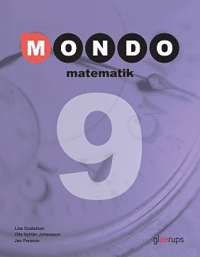 bokomslag Mondo Matematik 9 Elevbok