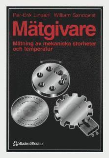 bokomslag Mätgivare - Mätning av mekaniska storheter och temperatur