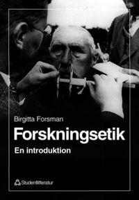 bokomslag Forskningsetik - En introduktion