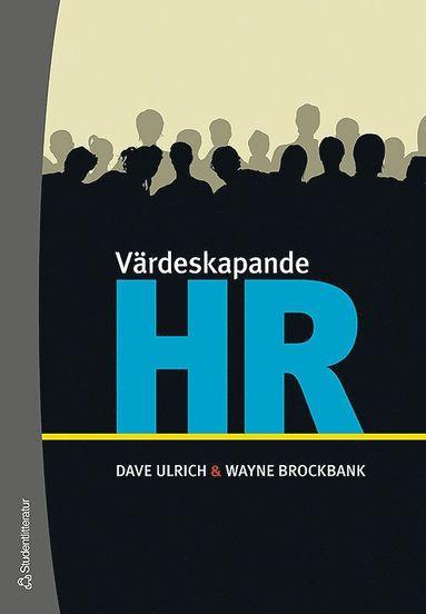 bokomslag Värdeskapande HR