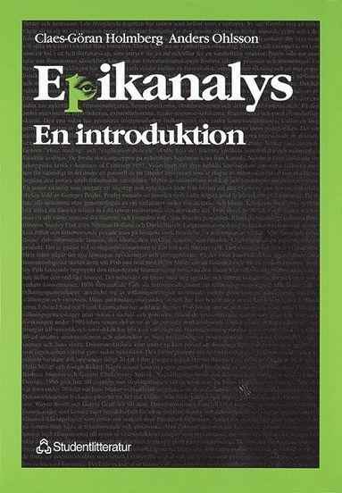 bokomslag Epikanalys - - en introduktion