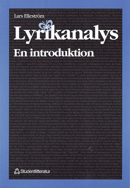 Lyrikanalys - en introduktion 1