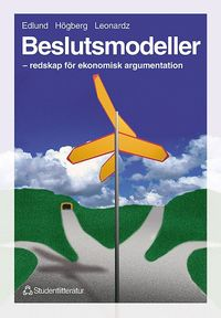 bokomslag Beslutsmodeller - - redskap för ekonomisk argumentation
