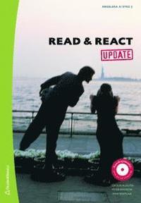 bokomslag Read & React. Update. Textbok, engelska A/steg 5