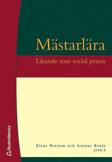 bokomslag Mästarlära - Lärande som social praxis
