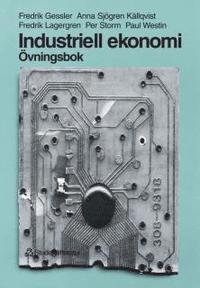bokomslag Industriell ekonomi - Övningsbok - Övningsbok