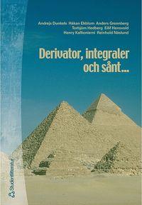 bokomslag Derivator integraler och sånt - Del 1