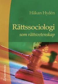 bokomslag Rättssociologi som rättsvetenskap