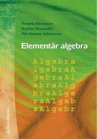 bokomslag Elementär algebra