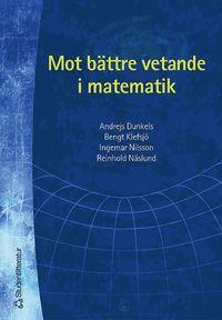 bokomslag Mot bättre vetande i matematik