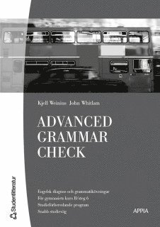bokomslag Advanced Grammar Check : Engelska 6 (10-pack)