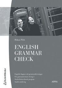 bokomslag English Grammar Check : Engelska 5 (10-pack)