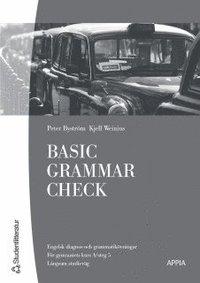 bokomslag Basic Grammar Check : Engelsk basgrammatik med dia (10-pack)