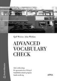 bokomslag Advanced Vocabulary Check (10-pack) - Engelska 6