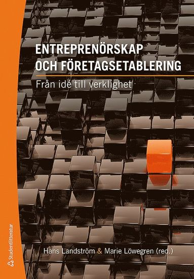 bokomslag Entreprenörskap och företagsetablering : från idé till verklighet
