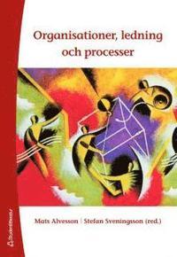 bokomslag Organisationer, ledning och processer