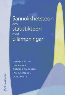 bokomslag Sannolikhetsteori och statistikteori med tillämpningar