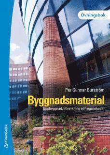 bokomslag Byggnadsmaterial - Övningsbok