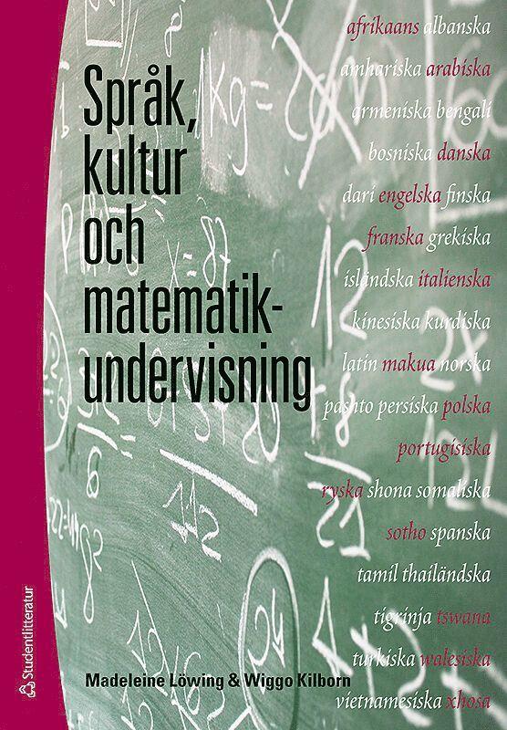 Språk, kultur och matematikundervisning 1