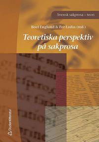 bokomslag Teoretiska perspektiv på sakprosa