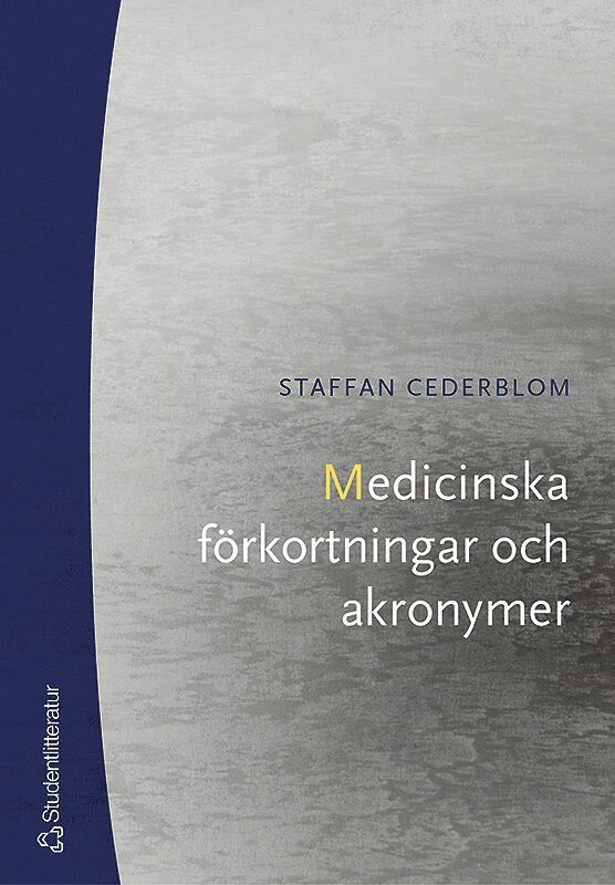 Medicinska förkortningar och akronymer 1