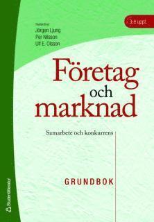 bokomslag Företag och marknad - textbok - Samarbete och konkurrens