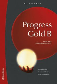 bokomslag Progress Gold B Elevbok med digital del - Engelska 6