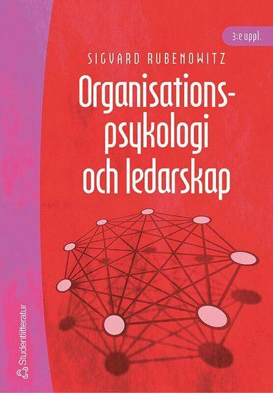 bokomslag Organisationspsykologi och ledarskap