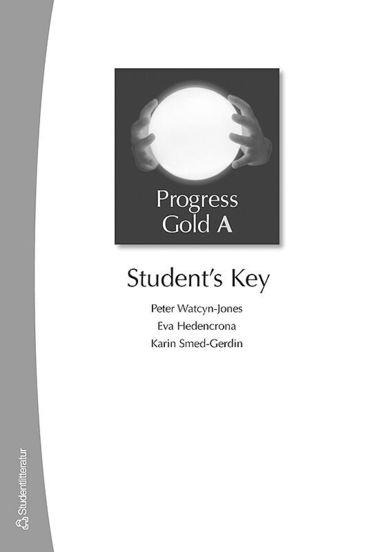 bokomslag Progress Gold A - Student's Key