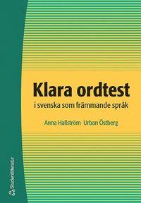 bokomslag Klara ordtest i svenska som främmande språk