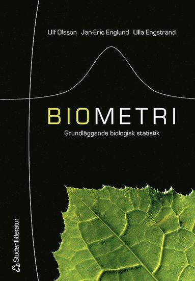 bokomslag Biometri : grundläggande biologisk statistik