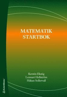 bokomslag Matematik startbok