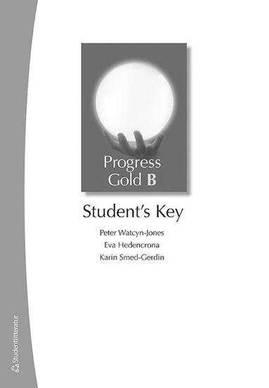 bokomslag Progress Gold B - Student's Key