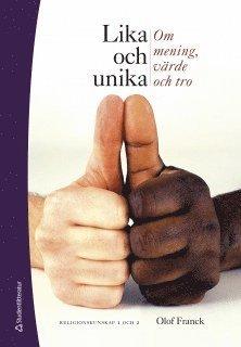 bokomslag Lika och unika Elevbok med webbdel